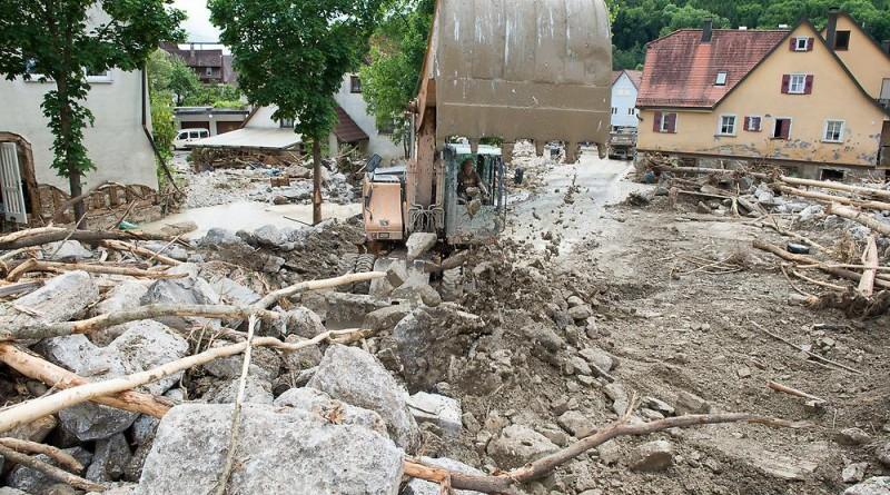 Новости: Что натворила гроза на юге Германии (фото)