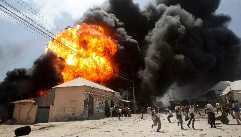 Новости: Взрывы в Сомали: пятеро погибших