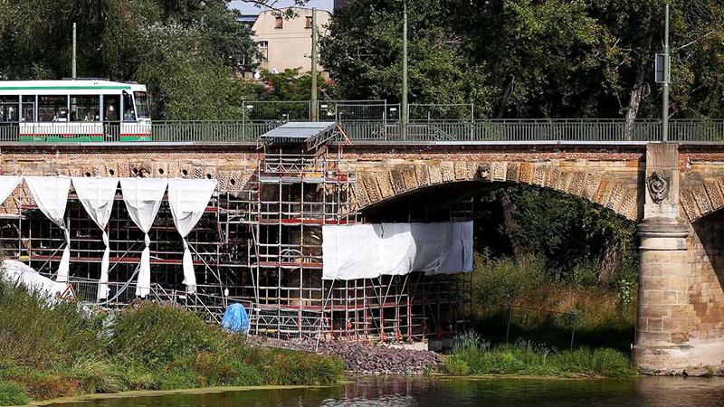 Новости: «Эхо войны» на мосту в Магдебурге