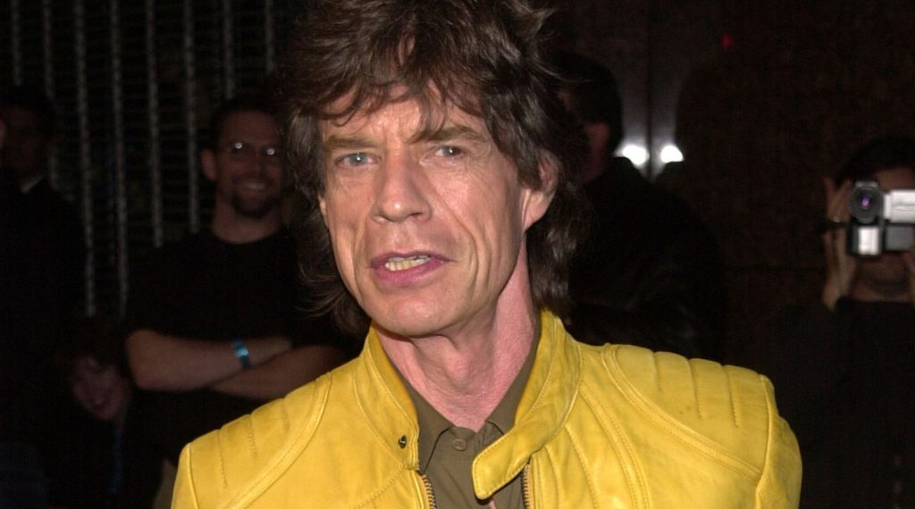 """at a celebration for Jagger's """"Goddess In The Doorway"""" album, El Rey Theater, Los Angeles, 11-15-01"""