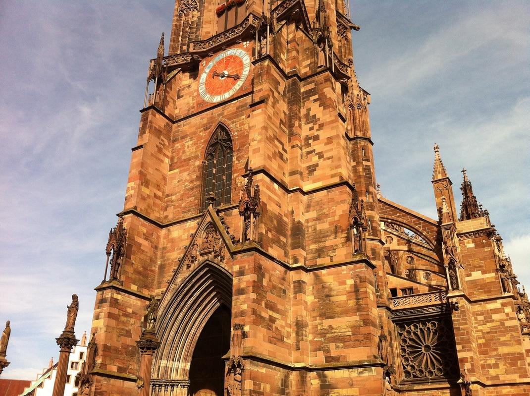 Культура: Достопримечательности Германии: Фрайбургский кафедральный собор рис 2