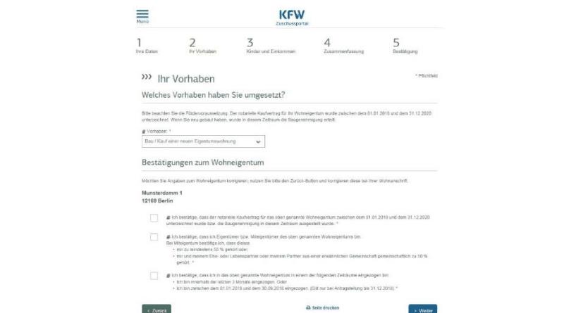 Недвижимость: Как получить пособие Baukindergeld: пошаговая инструкция рис 3