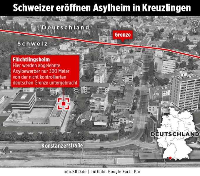 Политика: Федеральная полиция опасается потока мигрантов, которые приедут в Германию из Швейцарии