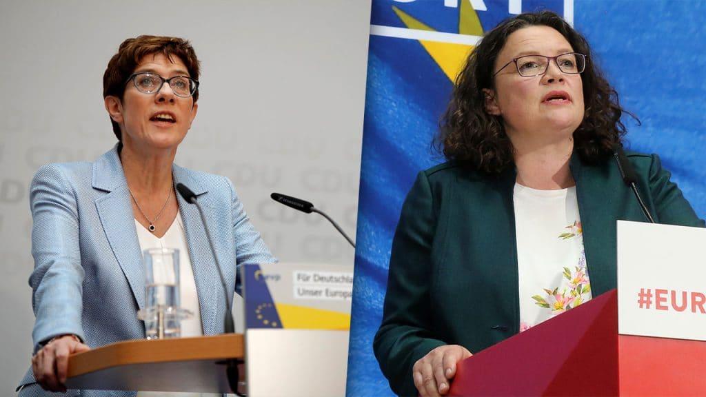 Политика: Традиционные партии Германии проигрывают на выборах в парламент ЕС