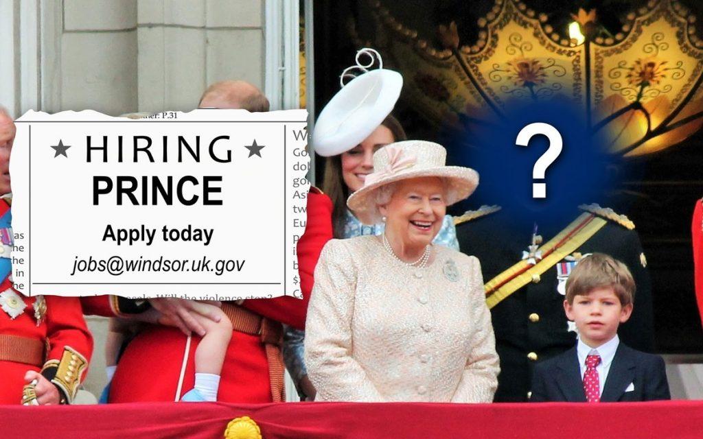 Отовсюду обо всем: Британская королевская семья ищет принца на постоянное место работы