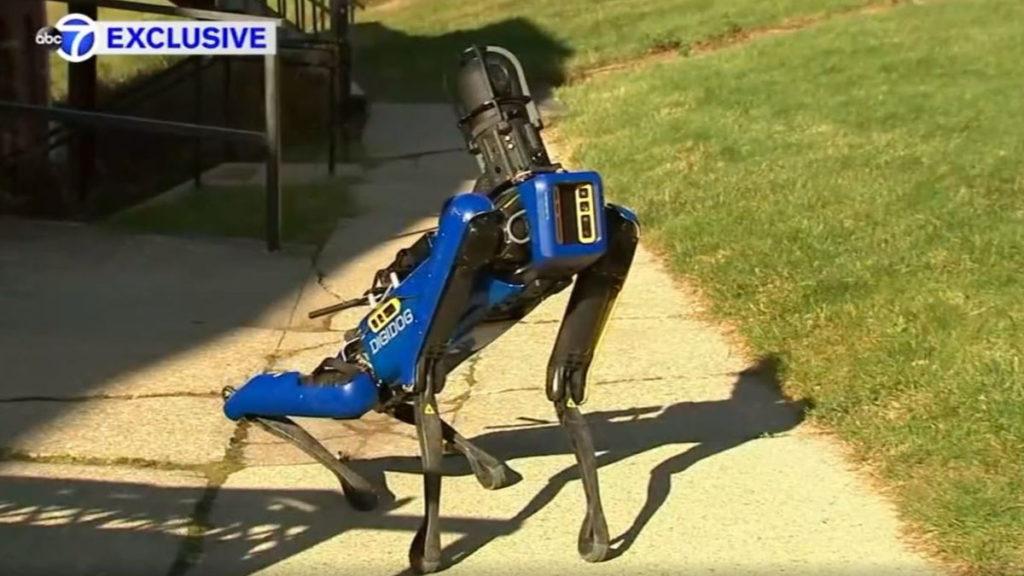 Отовсюду обо всем: Робот-собака заступил на службу в полиции