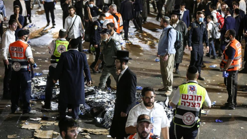 Отовсюду обо всем: Невероятная трагедия: в результате массовой паники погибло 44 человека